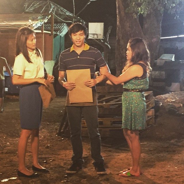 PHOTOS: Inday, Greg and Jerome in between takes