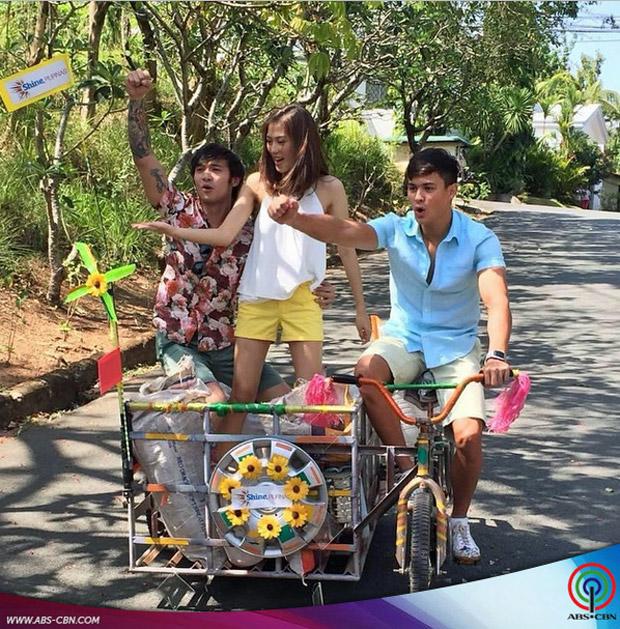 #ShinePilipinas: Mga adventures ng Inday Bote cast sa ABS-CBN Summer SID shoot