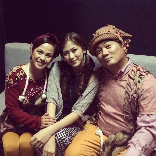 A-Wow Inday Bote behind-the-scenes photos