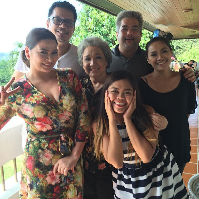 BEHIND-THE-SCENES: Inday Bote's last taping day